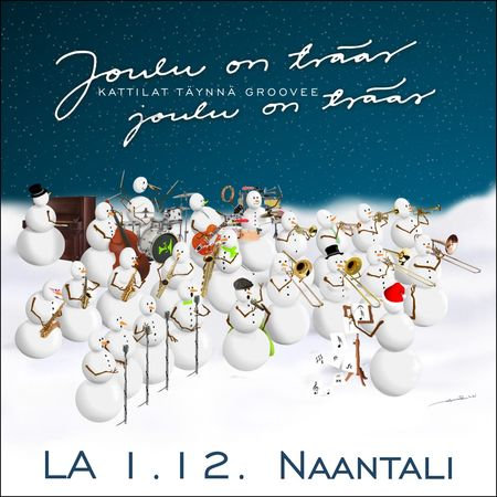 naantalin joulu 2018 Joulu on tsääs, Naantali 1.12.2018 | SUMU Big Band Webshop naantalin joulu 2018